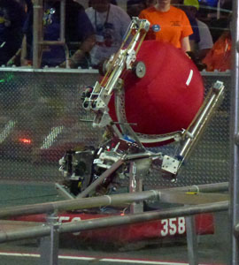 2014 <i>FIRST</i> Robotics Competition Team 358 Robot