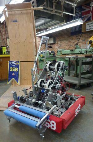 2016 <i>FIRST</i> Robotics Competition Team 358 Robot